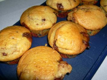 Schoko - Karamell - Muffins - Rezept