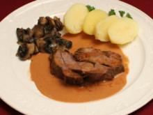 Eifeler Jungwildschweinbraten - Rezept