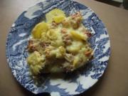 Hauptgericht: Kartoffeliger Blumenkohl-Hack-Auflauf - Rezept