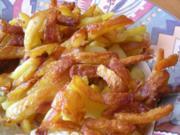 Bratkartoffeln aus rohen..... - Rezept