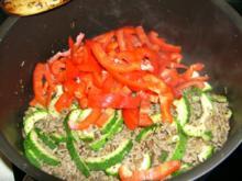 Zucchini-Hackpfanne - Rezept