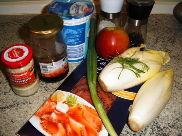 Chicoree-Lachs-Salat - Rezept - Bild Nr. 2