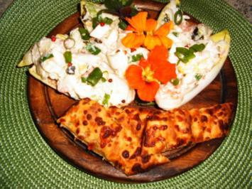 Chicoree-Lachs-Salat - Rezept