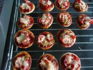 Rezept: PIZZA / MINIPIZZEN - Variationen