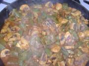 Champignon-Bohnen-Curry - Rezept
