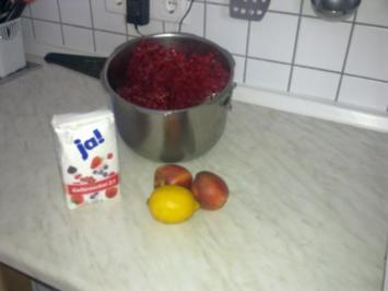 Rote-Johannisbeer-Aprikosen-Gelee - Rezept
