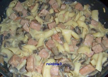 Kochen: Kasseler-Pilz-Pfanne - Rezept