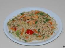 Bami Goreng mit Shrimps - Rezept