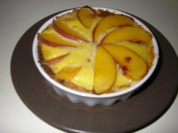 Pfirsich-Tartelettes - Rezept