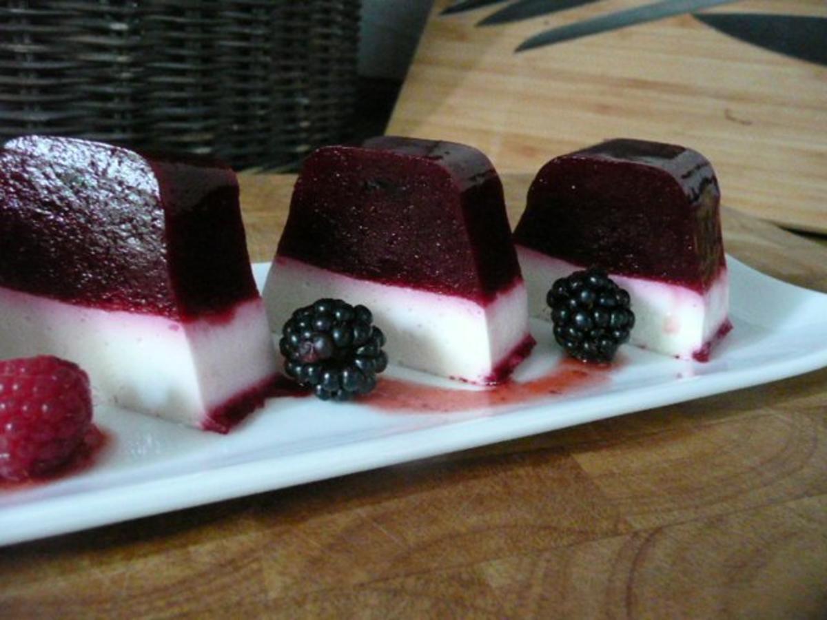 dessert himbeer brombeer joghurt terrine rezept. Black Bedroom Furniture Sets. Home Design Ideas