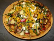 Frittata  mit Eiern, Zuccini, Pilzen - Rezept