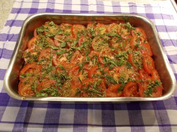 Brotauflauf mit Tomaten und Schafskäse - Rezept - Bild Nr. 4