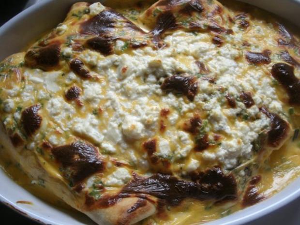 Gefüllte Pfannkuchen mit Käsesoße- gratiniert - Rezept - Bild Nr. 8