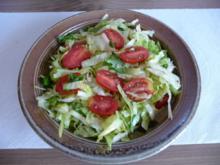 Salat :  Ein schneller bunter Teller - Rezept