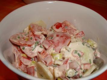 Salat Rot-Grün - Rezept