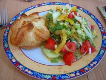 Spinat-Lachs-Muffins - Rezept