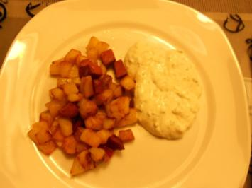Röstkartoffeln mit Sucuk - Rezept