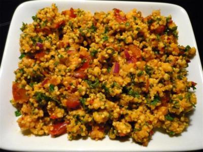 Hirse - Salat - Rezept