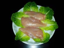 Hühnerbrust schonend gekocht. - Rezept