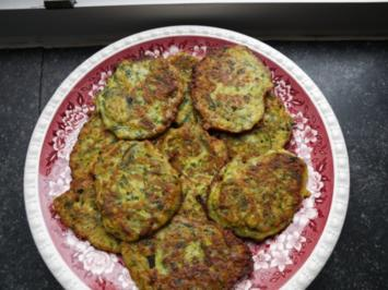 Zucchini -Puffer - Rezept