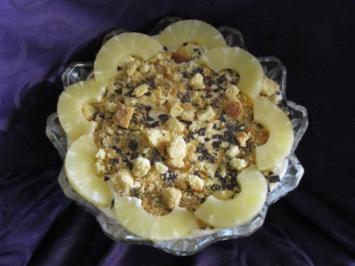 Dessert: Pina-Colada-Creme - Rezept