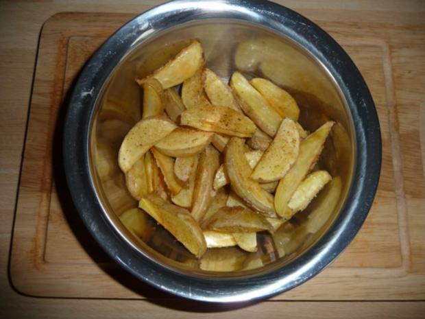 Potato Wedges - Rezept