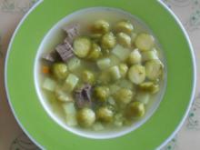 Rosenkohlsuppe - Rezept