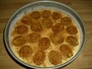 Eierlikör-Zwetschgenkuchen - Rezept