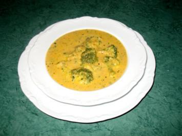 Suppe/Sahnig - Broccoli-Sahne-Süppchen - wie ich es mag - Rezept