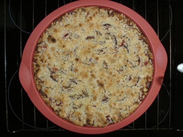Zwetschgenkuchen mit Streusel auf Quark - Rezept - Bild Nr. 11