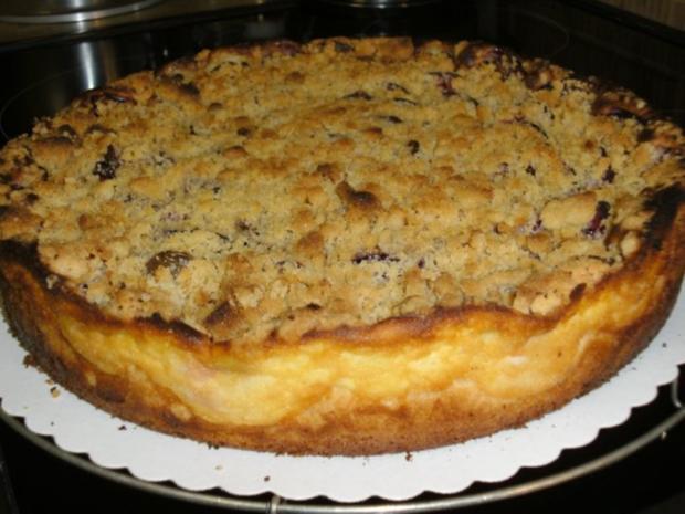 Zwetschgenkuchen mit Streusel auf Quark - Rezept - Bild Nr. 2