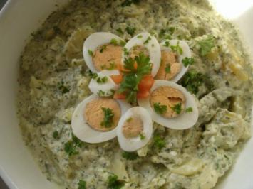 Kartoffelsalat in Kräuterremoulade - Rezept
