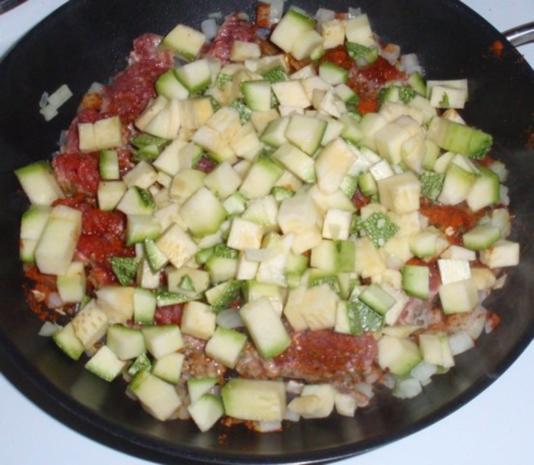 Schnelle Gemüse-Tatar- Pasta - Rezept - Bild Nr. 3