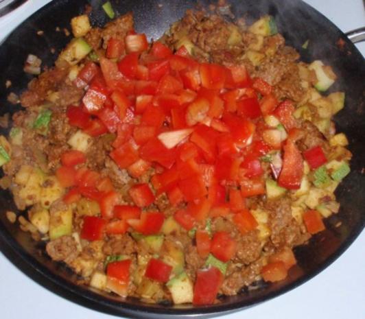 Schnelle Gemüse-Tatar- Pasta - Rezept - Bild Nr. 4