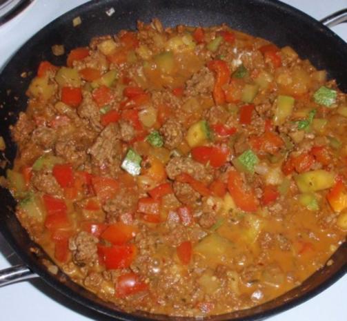 Schnelle Gemüse-Tatar- Pasta - Rezept - Bild Nr. 6