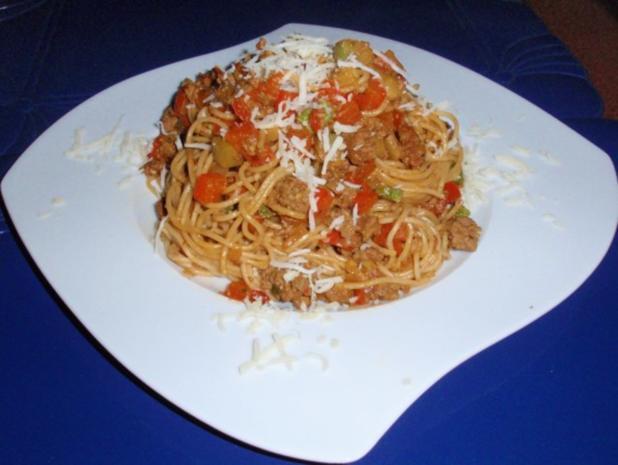 Schnelle Gemüse-Tatar- Pasta - Rezept - Bild Nr. 7
