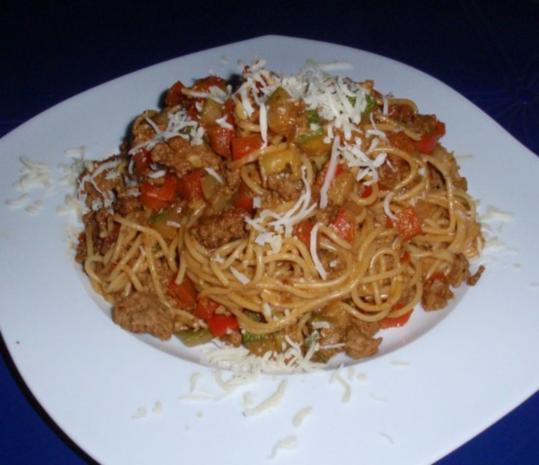 Schnelle Gemüse-Tatar- Pasta - Rezept - Bild Nr. 8