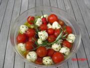 Mini-Mozzarella mit Cocktailtomaten - Rezept