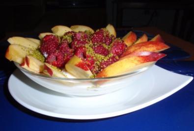 Früchte-Quark-Nachspeise - Rezept