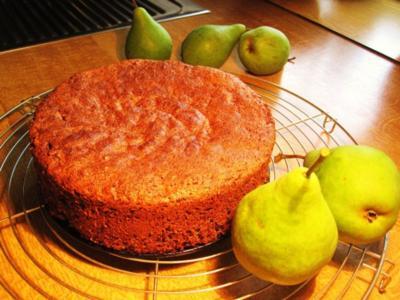 Birnenkuchen - nur 20-cm - aaaber fein ... - Rezept