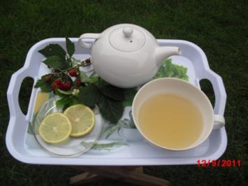 Waldbeeren-Zitronen-Tee - Rezept