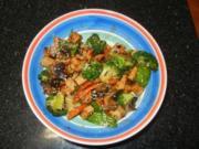 Sweet Chilli Tofu Stir-Fry - Rezept