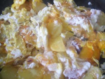 Bratkartoffeln ( aus rohen Kartoffeln ) ein ganz einfaches aber leckeres Gericht - Rezept