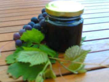 Rotwein- Gelee auf Vorrat, zum kochen.. - Rezept