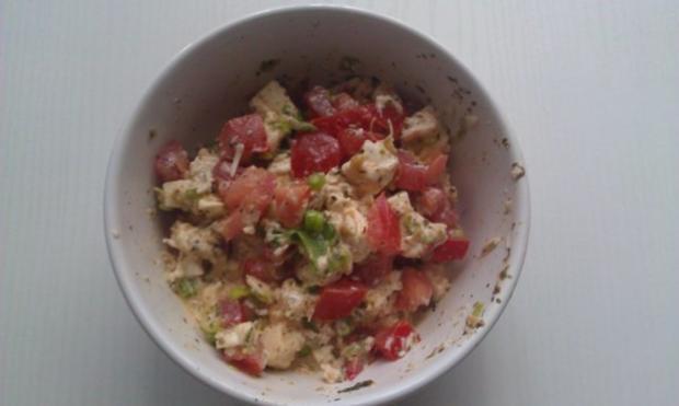 Putenrollen mit Mozarella-Tomate Füllung in Tomatensauce - Rezept - Bild Nr. 2