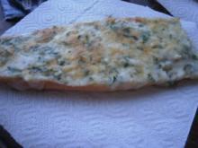 Spanische Crostada con Manchego - Rezept
