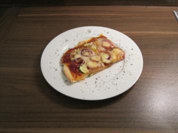 Grundrezept Pizza - Pizzateig und Tomatensoße - Rezept