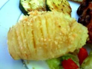 Beilage: Fächerkartoffeln - Rezept