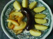 Boudin mit karamellisierten Äpfeln - Rezept