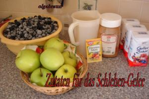 Schlehen-Gelee - Rezept